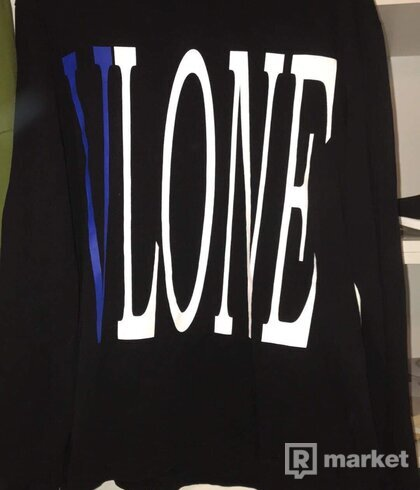 Vlone longsleeve blue staple tee