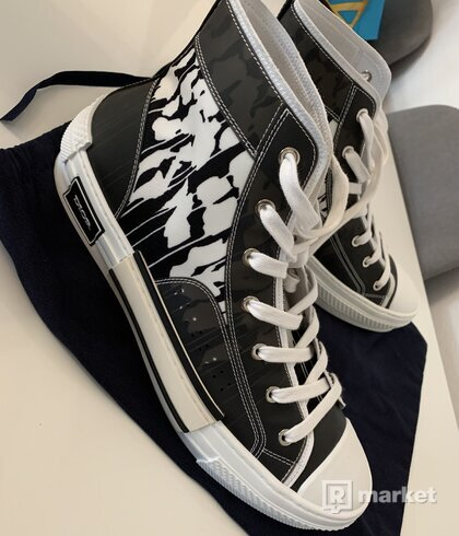 Dior B23 high trainers