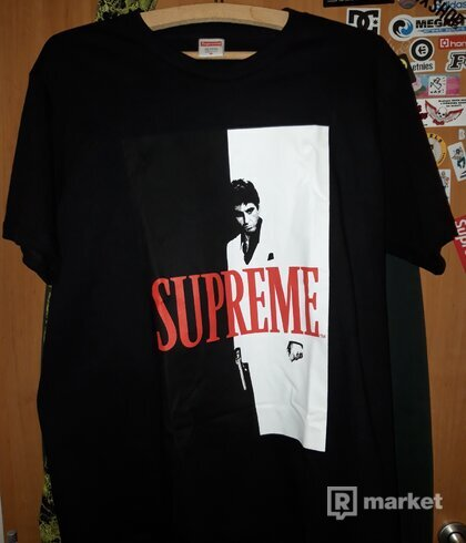 Supreme Scarface tee Black