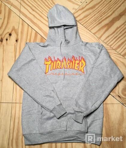 Thrasher Flamr Logo Hoodie