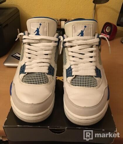 "Jordan 4 Retro ,,Military Blue"" 2006"