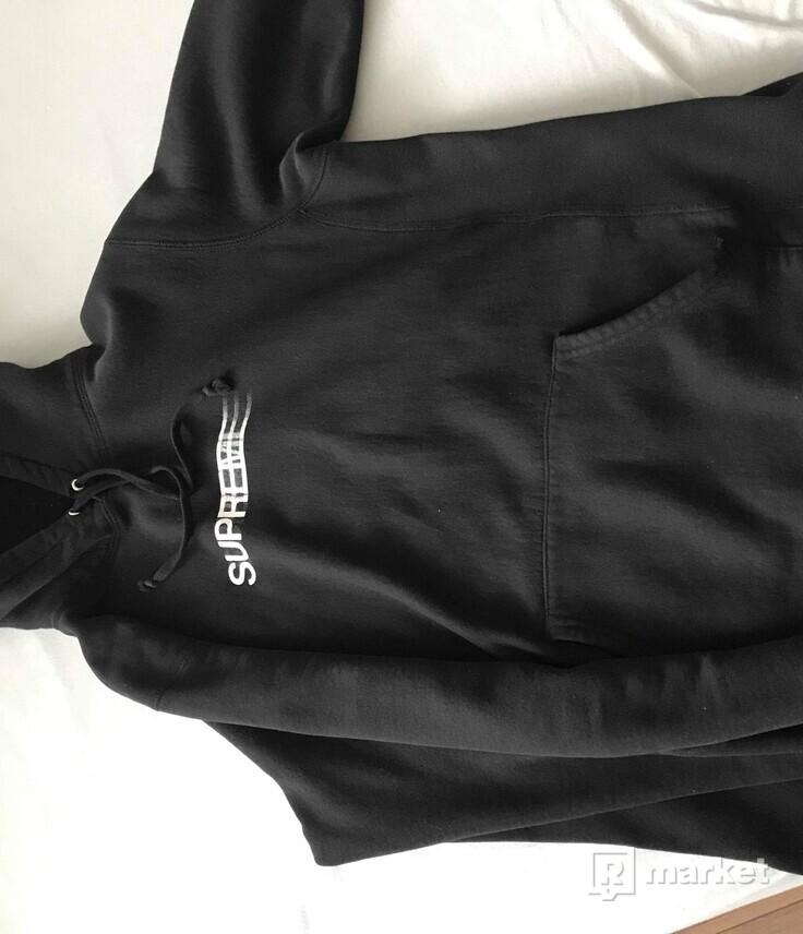 Supreme motion logo hoodie ss16