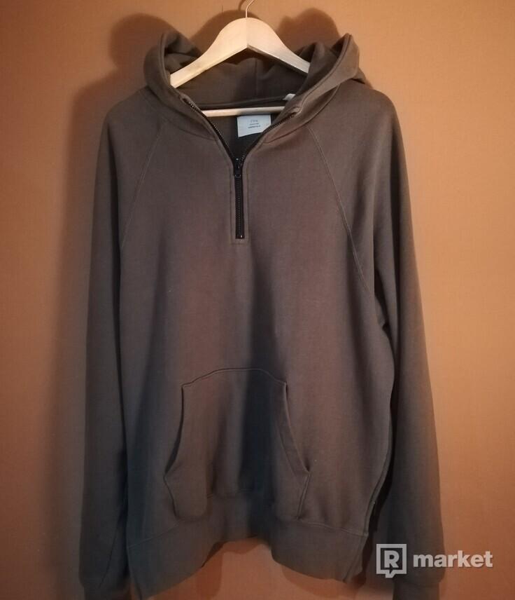 Fog essentials half zip hoodie