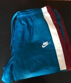 Nike Woven Reissue Pants - blue/red