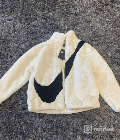 Nike Faux fur jacket