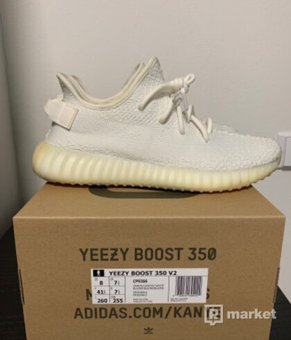 Adidas Yeezy 350 cream white