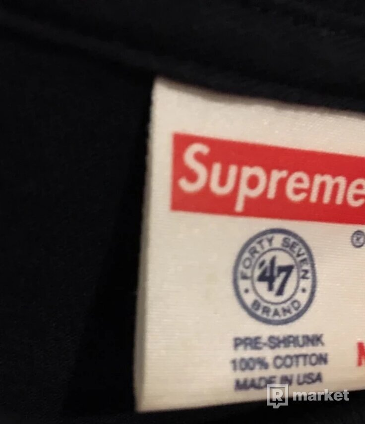 Supreme New York Yankees Boxlogo tee