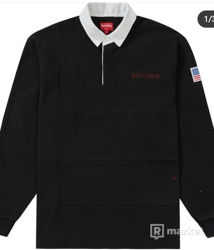 SUPREME 7'S RUGBY BLACK