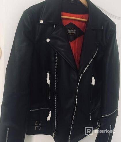 Kožená bunda ,Křivák, Long vegan defector II