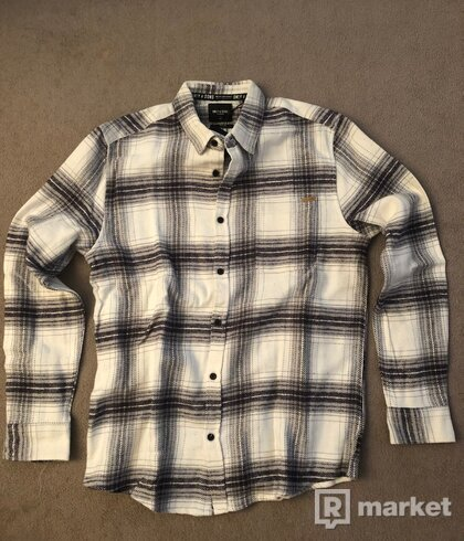 ONLY & SONS White Brushed Shirt