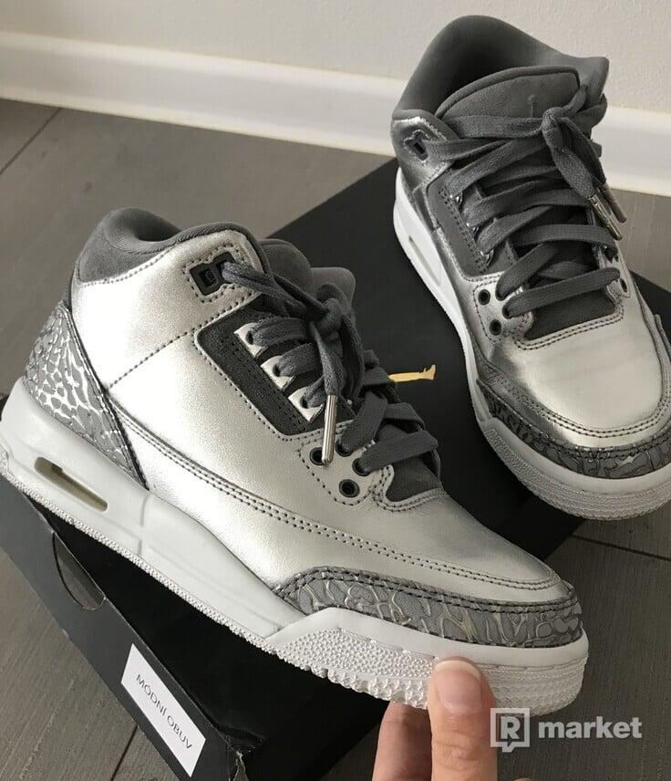 Air Jordan 3 Retro Silver