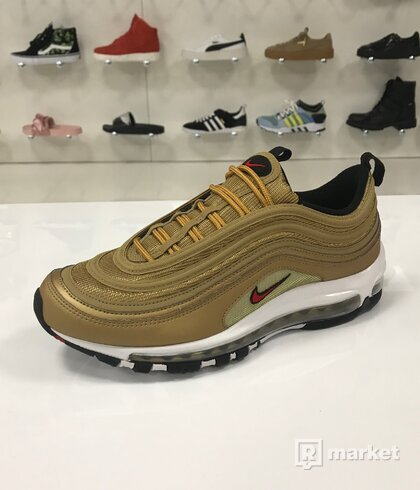 Air Max 97 Mettalic Gold