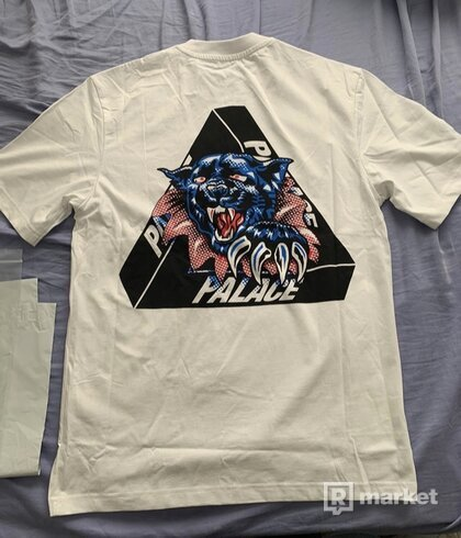 Palace Ripped Tee White