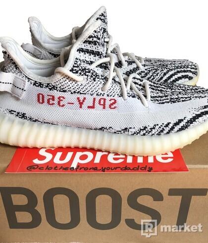 Yeezy 350 Boost | Zebra