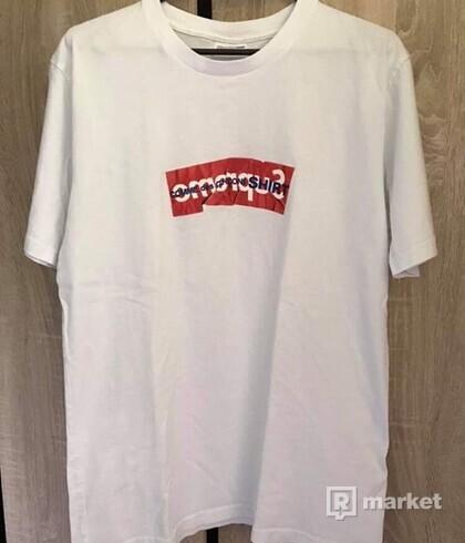 Supreme Comme Des Garcons SHIRT Box Logo Tee White