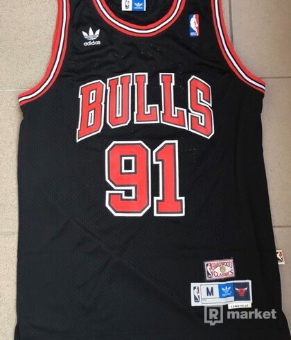 Adidas x NBA Chicago Bulls Dennis Rodman Jersey