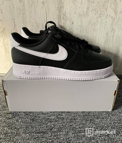 Nike Air Force 1 '07 Black and White ( US 11,5)