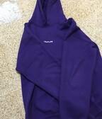 Traplife hoodie fialová