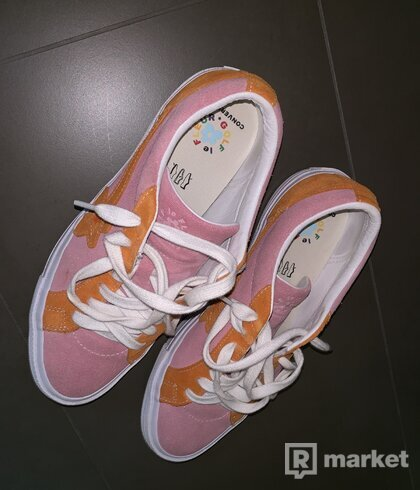 Golf le fleur pink/orange