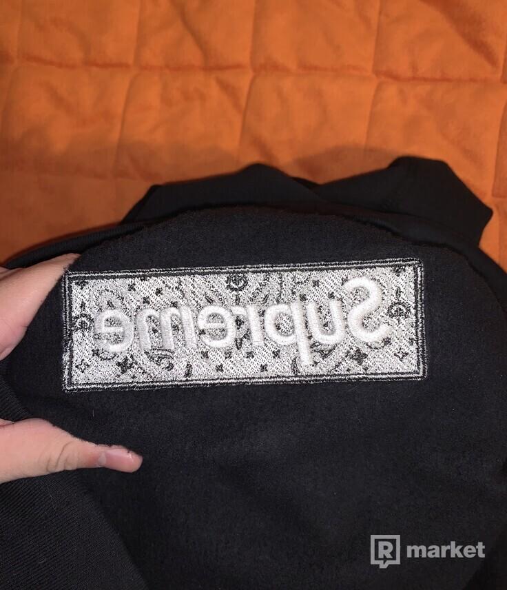 Supreme Bandana Box Logo Hoodie FW19 XL