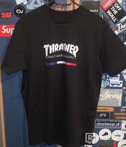 HUF x Thrasher TDD Black Mesh Jersey
