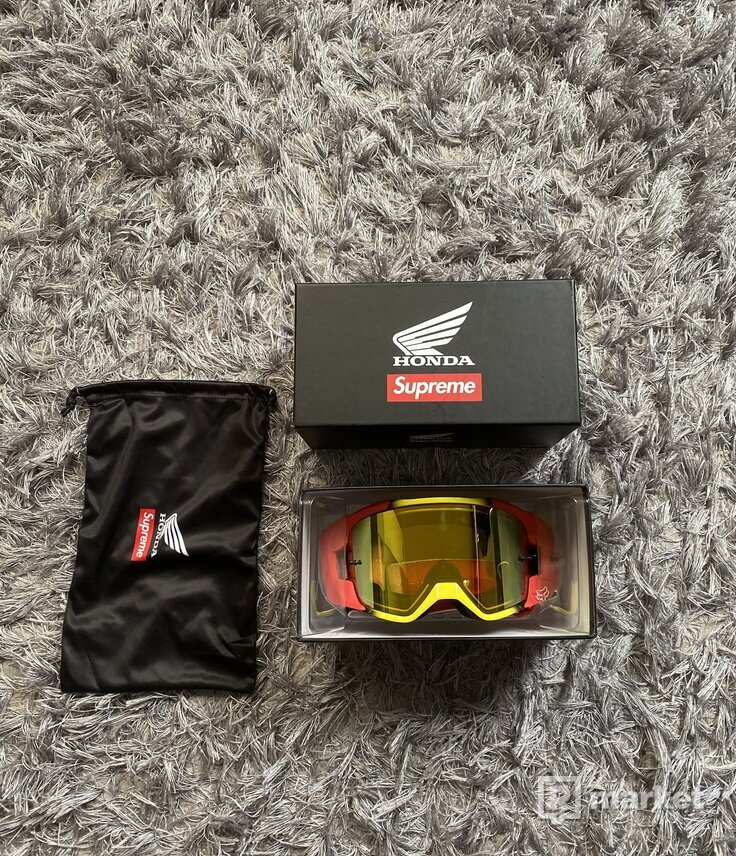 Supreme x Honda x Fox Googles