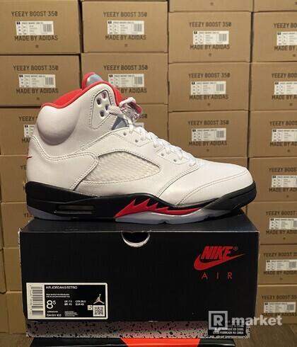 Jordan 5 OG fire red