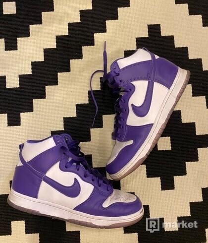 Nike Dunk High Purple