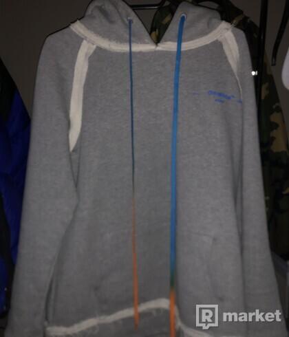 OW acrylic hoodie