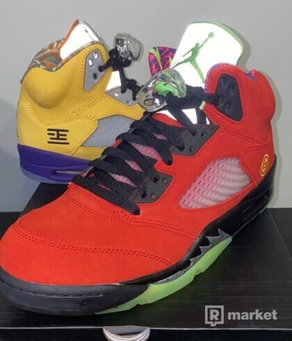 Nike Jordan 5 What The