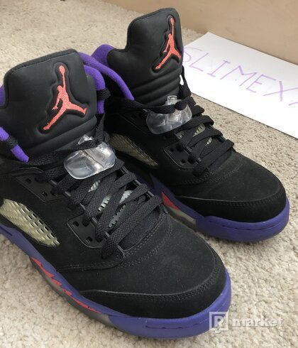 Jordan 5 Fierce Purple