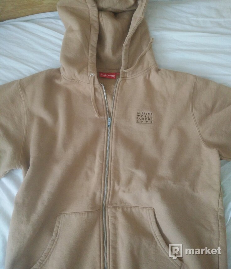Supreme World famous zip up