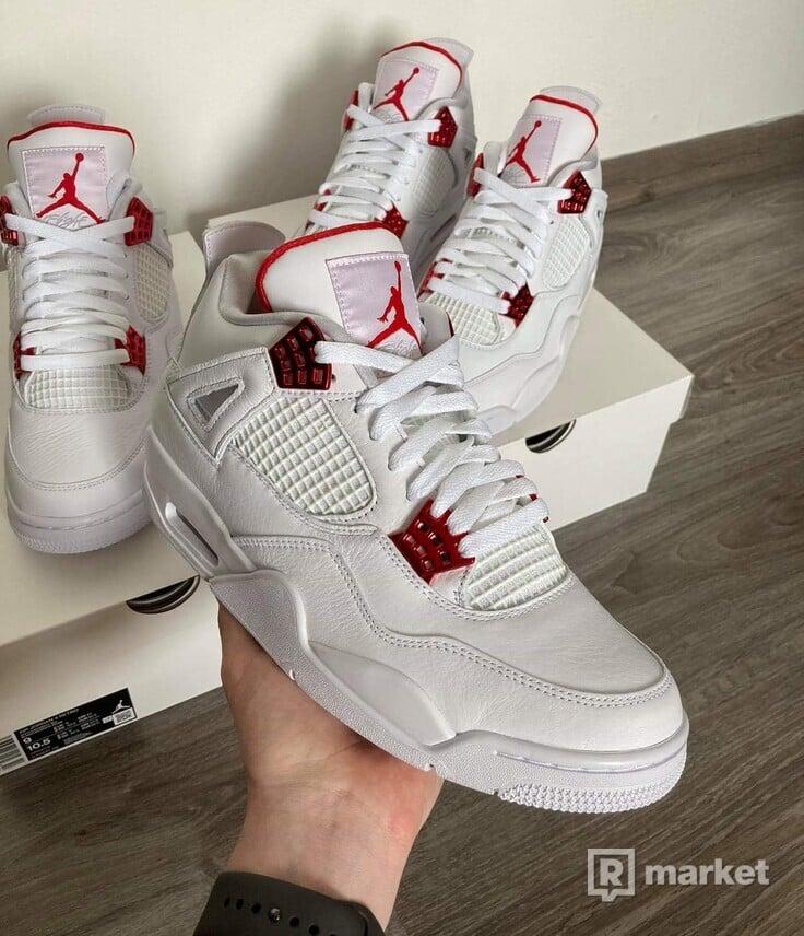 Air Jordan 4 Metallic Red