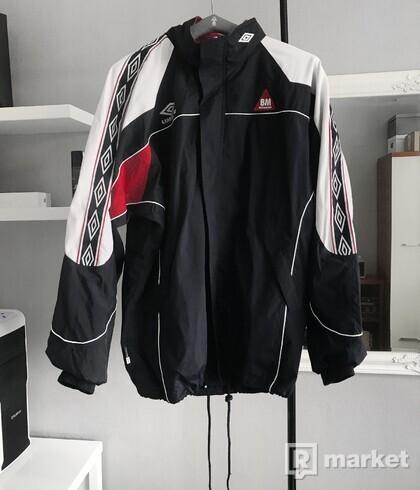 Umbro Byggmaker sleeve stripe vintage jacket