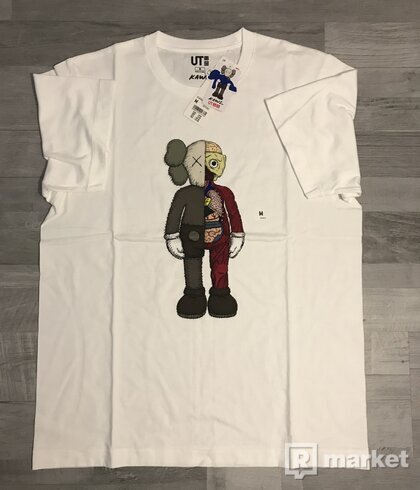 KAWS x Uniqlo Graphic Tee (Grey/Red/White)