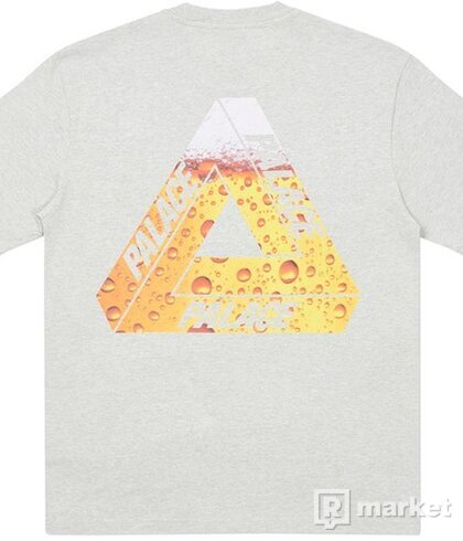 Palace Tri-Lager Tee Grey