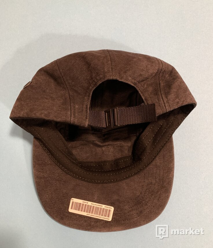 Kšiltovka Supreme - Washed Canvas Camp Cap
