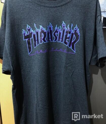 Thrasher flame tričko