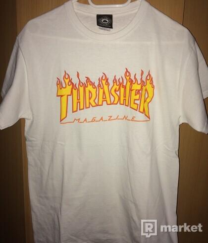 Thrasher tričko flame logo