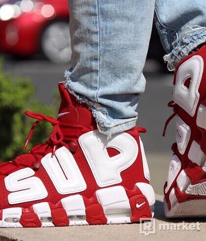 """Air More Uptempo Supreme """"Suptempo"""" Red"""