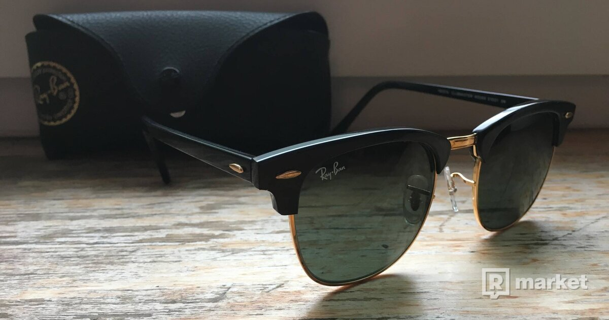 Slnecne okuliare Ray Ban Clubmaster  0237c14965a
