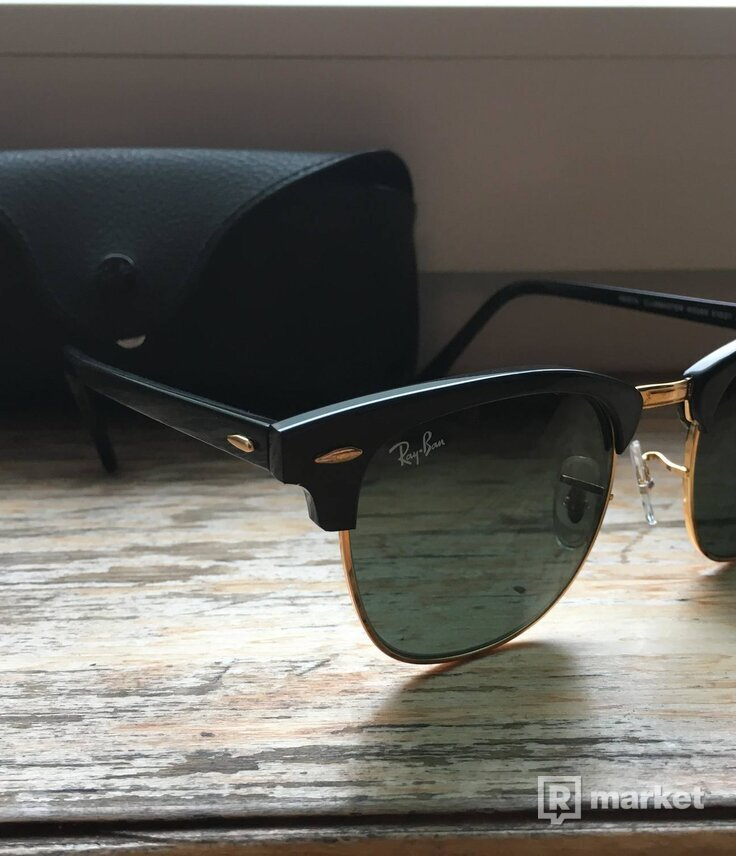 516bddad6 Slnecne okuliare Ray Ban Clubmaster | REFRESHER Market