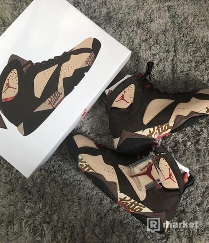 Air Jordan 7 x Patta