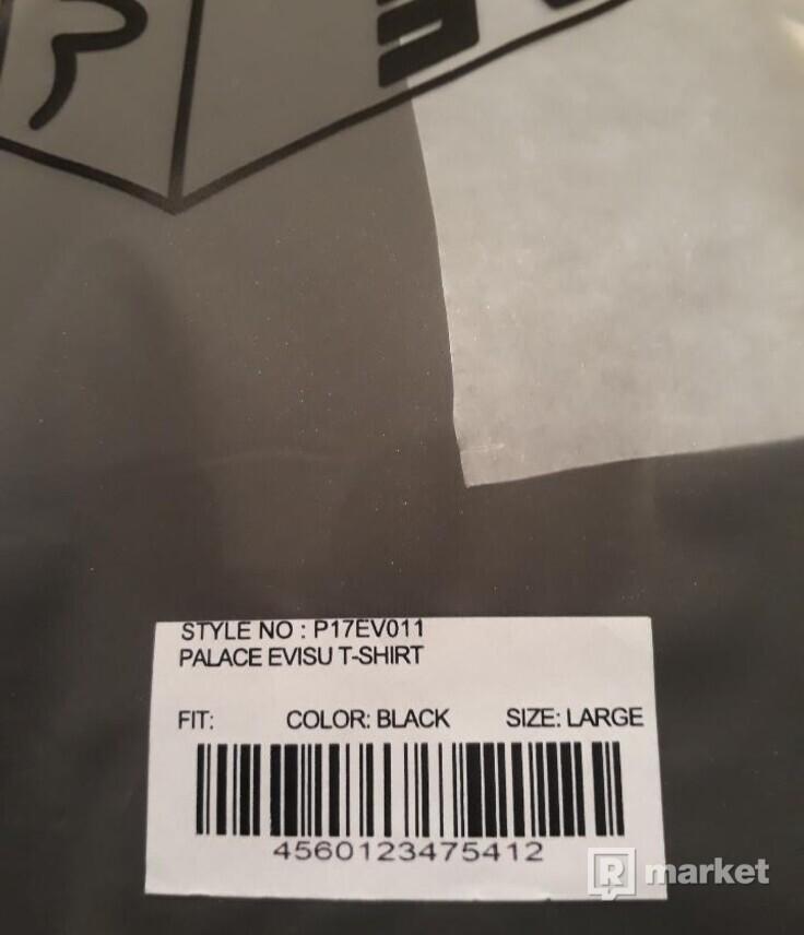 Palace Evisu T-Shirt Black