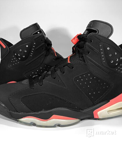 "Air Jordan Retro 6 ""Black Infrared"" 2014"