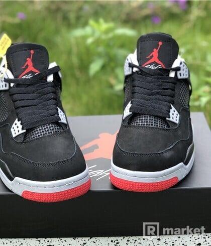 Jordan retro 4 bred