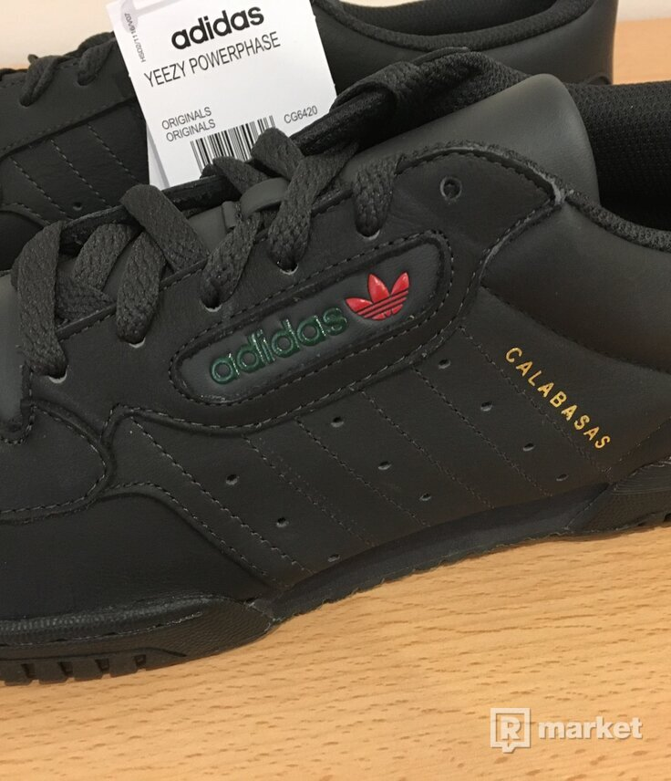 Adidas Yeezy Powerphase Core Black EU46/UK11