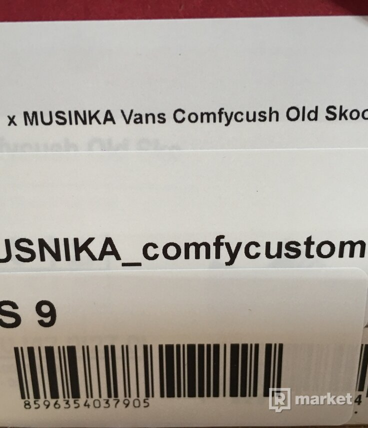 FTSHP x MUSINKA Vans Comfycush Old Skool
