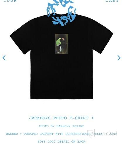 Travis Scott JACKBOYS Photo T-Shirt I Black