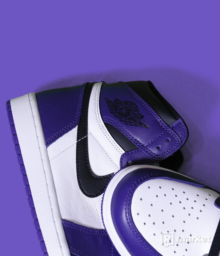 Air Jordan 1 Court Purple 2.